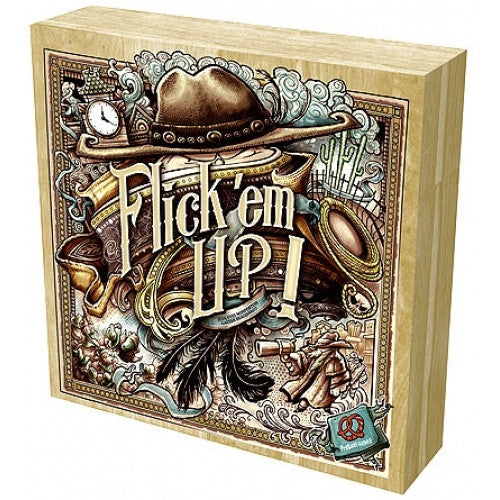 Flick 'em Up! - Wooden Edition available at 401 Games Canada