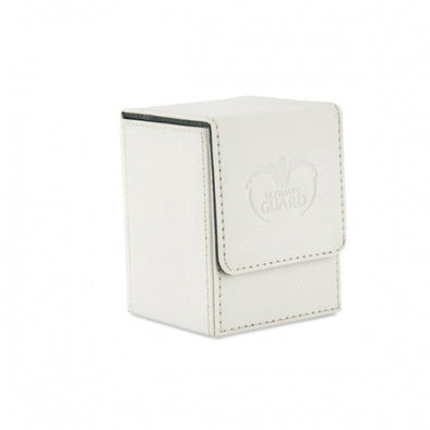 Buy Ultimate Guard - Flip Deck Case Xenoskin 100+ - White and more Great Sleeves & Supplies Products at 401 Games