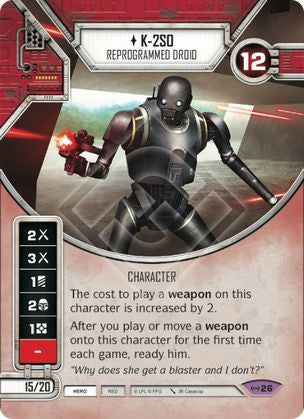 K-2SO - Reprogrammed Droid - 401 Games