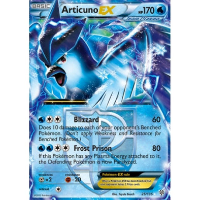 Buy Articuno-EX - 25/135 and more Great Pokemon Products at 401 Games