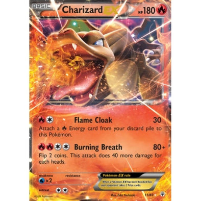Buy Charizard-EX - 11/83 and more Great Pokemon Products at 401 Games