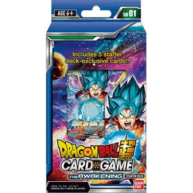 Dragon Ball Super Card Game - The Awakening - Starter Deck - 401 Games