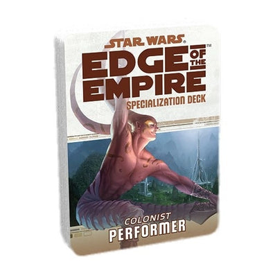 Buy Star Wars: Edge of the Empire - Specialization Deck - Colonist Performer and more Great RPG Products at 401 Games