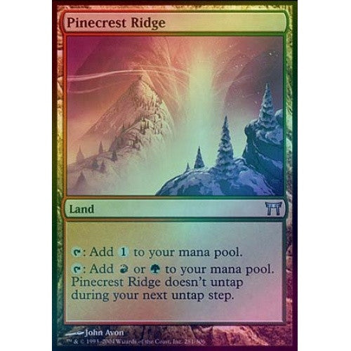 Pinecrest Ridge (Foil) (CHK) - 401 Games