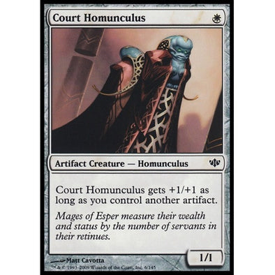 Court Homunculus (CON) available at 401 Games Canada