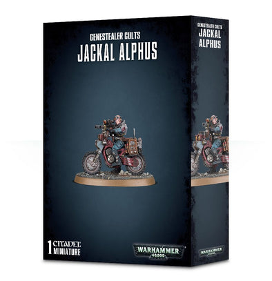 Buy Warhammer 40,000 - Genestealer Cults - Jackal Alphus and more Great Games Workshop Products at 401 Games