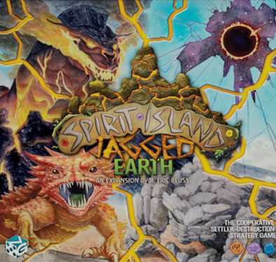 Buy Spirit Island - Jagged Earth (Pre-Order) and more Great Board Games Products at 401 Games