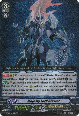 Majesty Lord Blaster - BT05/S02EN SP - 401 Games