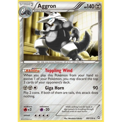 Buy Aggron - 80/124 - Reverse Foil and more Great Pokemon Products at 401 Games