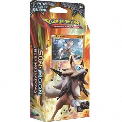 Buy Pokemon - Burning Shadows Lycanroc Theme Deck - Rock Steady and more Great Pokemon Products at 401 Games