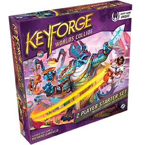 Keyforge: Worlds Collide - 2 Player Starter available at 401 Games Canada