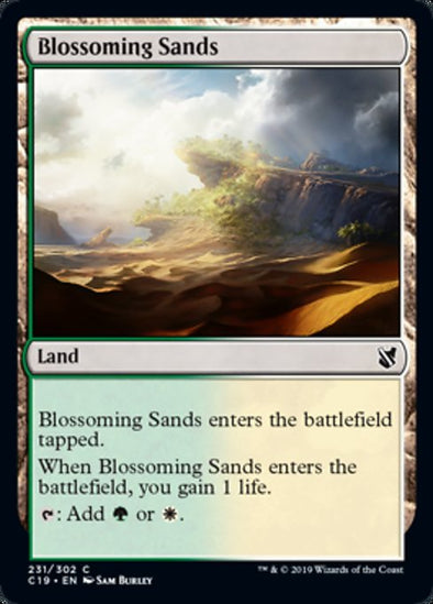 Blossoming Sands (C19)