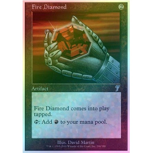 Fire Diamond (Foil) available at 401 Games Canada