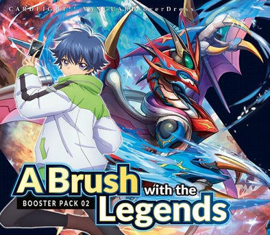 Cardfight!! Vanguard - VGE-D-BT02 - Booster Pack 02: A Brush with the Legends (Pre-Order) available at 401 Games Canada