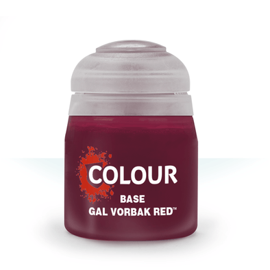 Citadel Base - Gal Vorbak Red available at 401 Games Canada