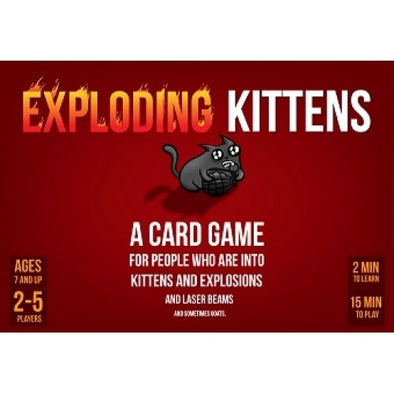 Buy Exploding Kittens and more Great Board Games Products at 401 Games