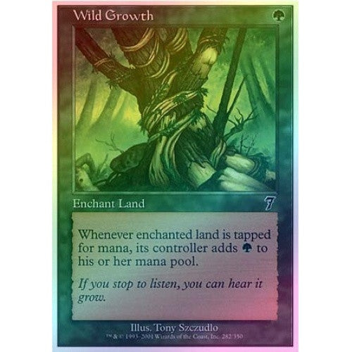 Wild Growth (Foil) - 401 Games