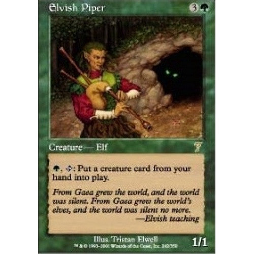 Elvish Piper available at 401 Games Canada