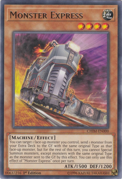 Monster Express (CHIM-EN000) (Rare) available at 401 Games Canada