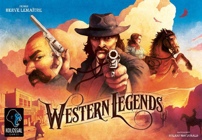 Buy Western Legends (Pre-Order) and more Great Board Games Products at 401 Games