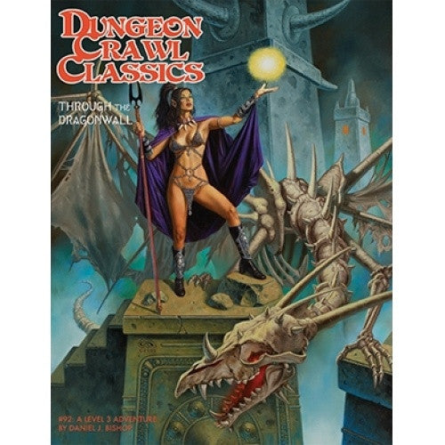 Dungeon Crawl Classics - #92: Through the Dragonwall available at 401 Games Canada