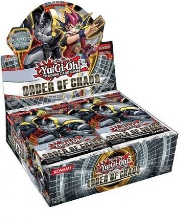 Buy Yugioh - Order of Chaos Booster Box and more Great Yugioh Products at 401 Games