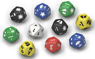 Buy Fallout - Wasteland Warfare - Dice Set and more Great Tabletop Wargames Products at 401 Games