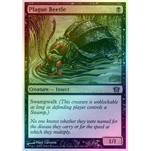 Plague Beetle (Foil) available at 401 Games Canada