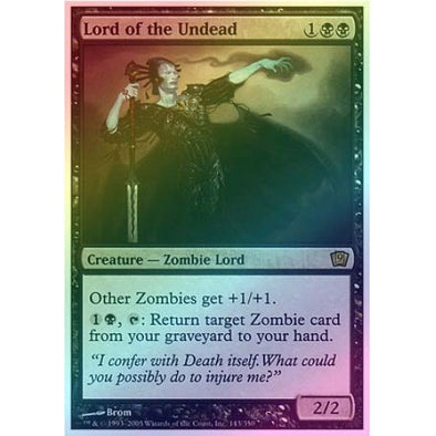 Lord of the Undead (Foil) available at 401 Games Canada