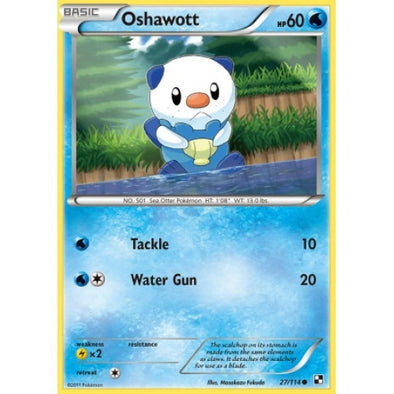 Buy Oshawott - 27/114 and more Great Pokemon Products at 401 Games
