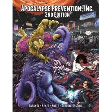 Apocalypse Prevention, Inc. - 2nd Edition - Core Rulebook (Softcover) - 401 Games