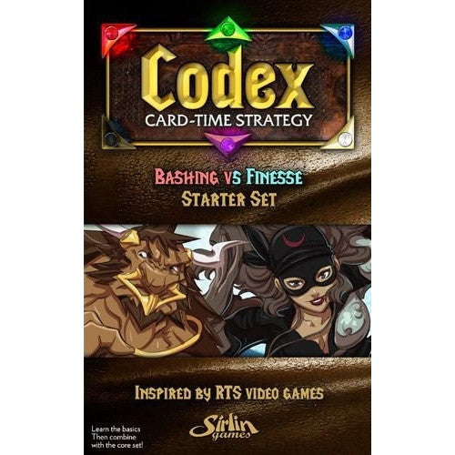 Codex: Card-Time Strategy - Bashing Vs Finesse Starter Set - 401 Games
