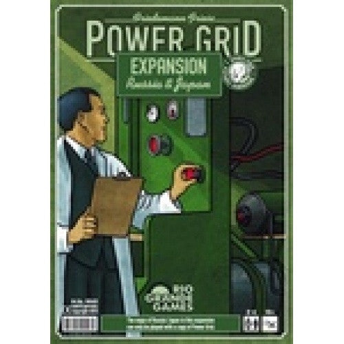 Power Grid - Russia / Japan Map Pack