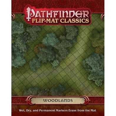 Pathfinder - Flip Mat - Classics: Woodlands - 401 Games