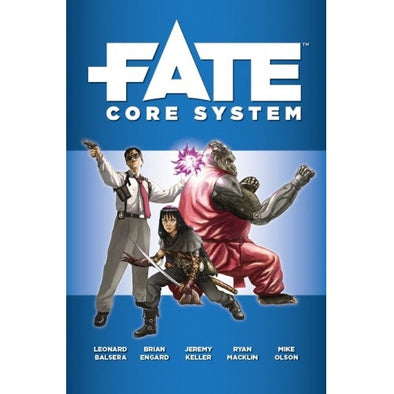 Fate - Core Rulebook - 401 Games