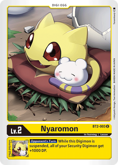 Nyaromon (BT2-003) available at 401 Games Canada