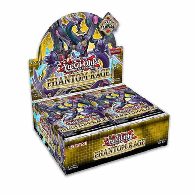 Yugioh - Phantom Rage Booster Case 1st Edition (Box of 12) available at 401 Games Canada