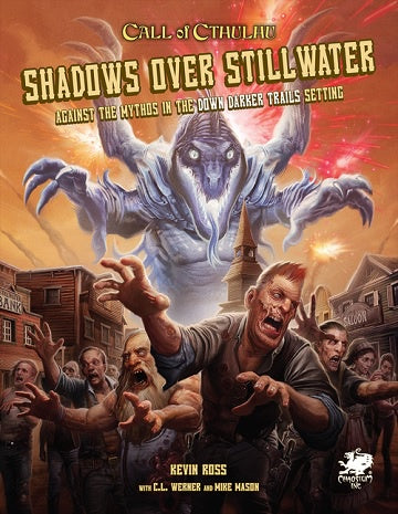 Buy Call of Cthulhu - 7th Edition - Shadows Over Stillwater (Pre-Order) and more Great RPG Products at 401 Games