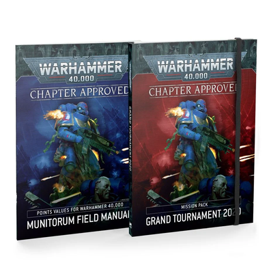 Warhammer 40,000 - Chapter Approved - Grand Tournament 2020 & Munitorum Field Manual available at 401 Games Canada