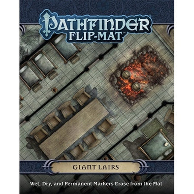 Pathfinder - Flip Mat - Giant Lairs available at 401 Games Canada