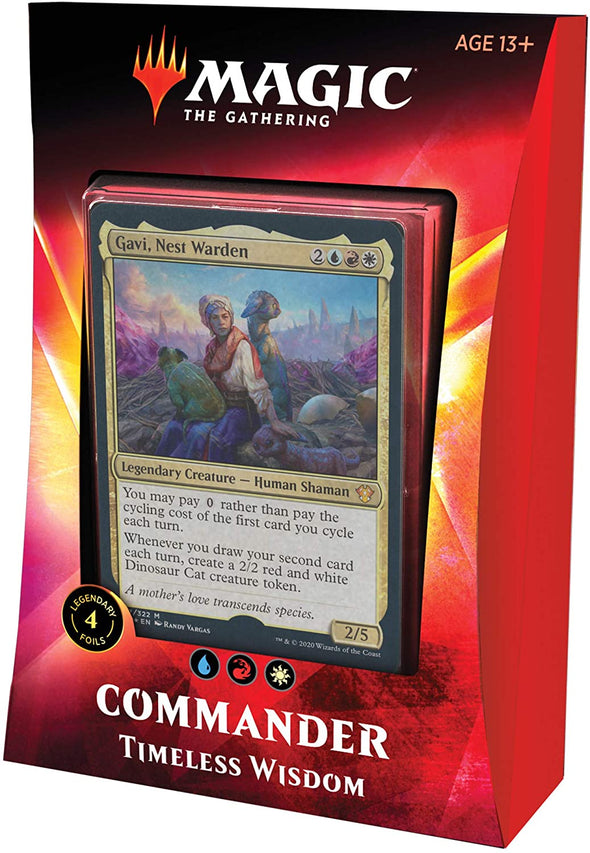 MTG - Ikoria Commander 2020 - Timeless Wisdom - 401 Games