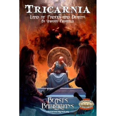 Buy Savage Worlds - Tricarnia - Land of Princes and Demons - Beasts Barbarians and more Great RPG Products at 401 Games