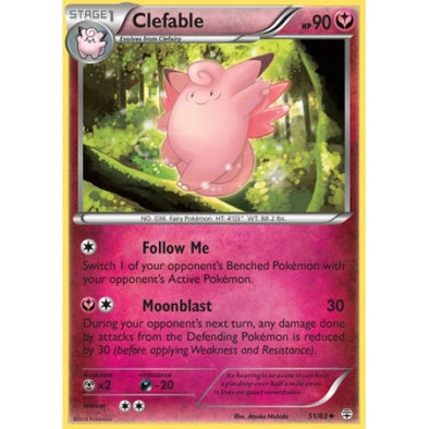 Buy Clefable - 51/83 and more Great Pokemon Products at 401 Games