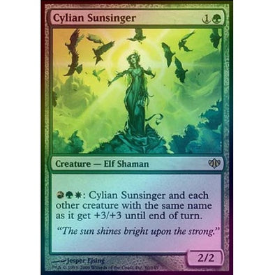 Cylian Sunsinger (Foil) (CON) available at 401 Games Canada
