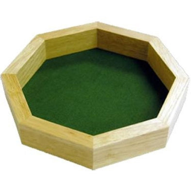 Dice Tray - 10 Inch Wood Koplow Games - 401 Games