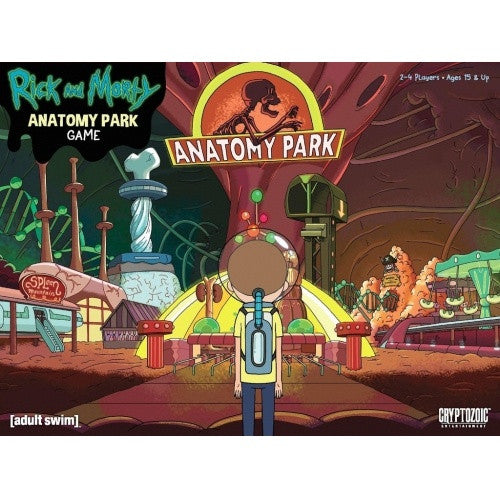 Rick & Morty - Anatomy Park Game - 401 Games