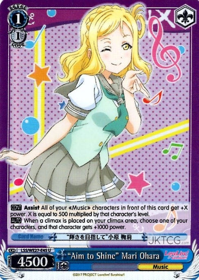 """Aim to Shine"" Mari Ohara - (Foil) available at 401 Games Canada"