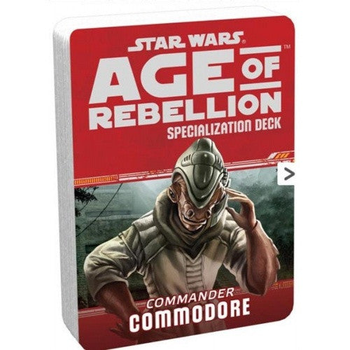 Star Wars: Age of Rebellion - Specialization Deck - Commander Commodore - 401 Games