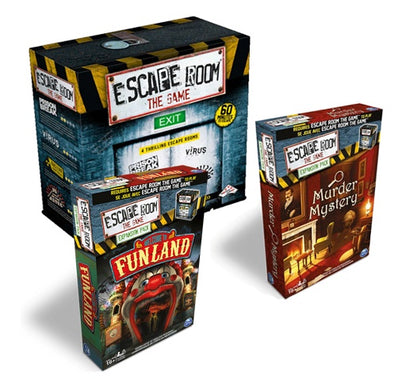 Board Game Bundle - Escape Room and Expansions - 401 Games