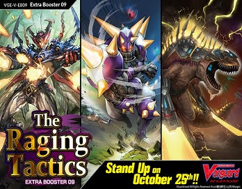 CARDFIGHT VANGUARD - V Extra Booster 09: The Raging Tactics available at 401 Games Canada